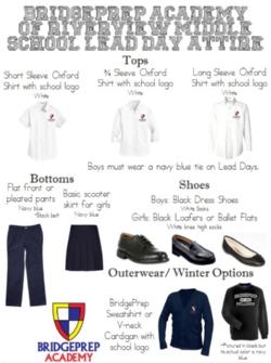 School Uniforms - News and Announcements - BridgePrep